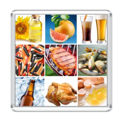 Магнит  Food Collage2