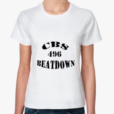 Классическая футболка CBS