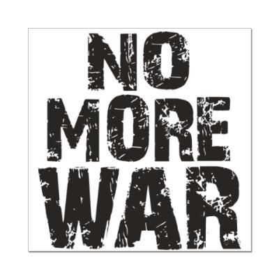 Наклейка (стикер) Нет войне
