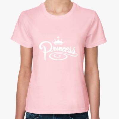 Женская футболка Princess