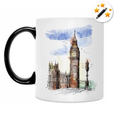 Кружка-хамелеон Биг-Бен - Big Ben - Англия - Лондон