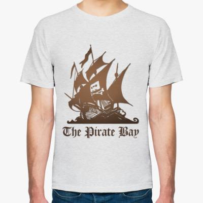Футболка  пират the pirate bay