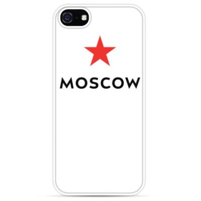Чехол для iPhone логотип Москвы