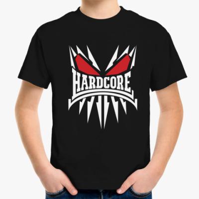 Детская футболка Skeleton Hardcore
