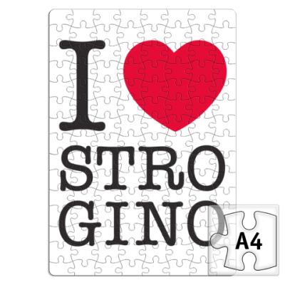 Пазл I Love Strogino