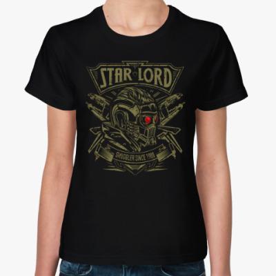 Женская футболка Звёздный Лорд (Star Lord)