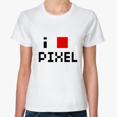 Классическая футболка Pixel