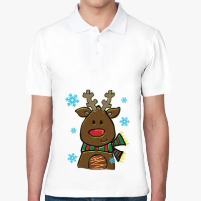 Рубашка поло Маленький олень