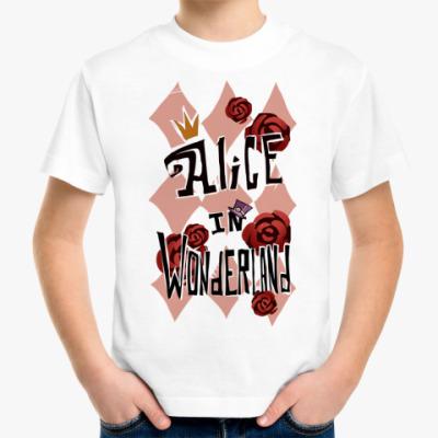 Детская футболка Alice