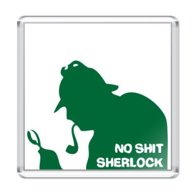 Магнит No shit. Sherlock.