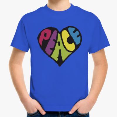 Детская футболка Сердце мира