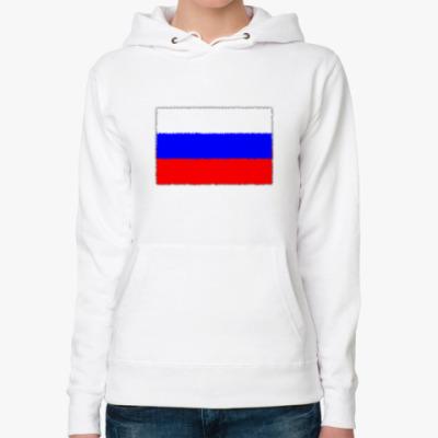 Женская толстовка худи Россия