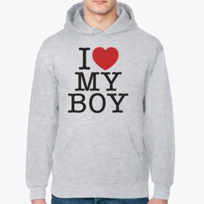 Толстовка худи I love my boy *