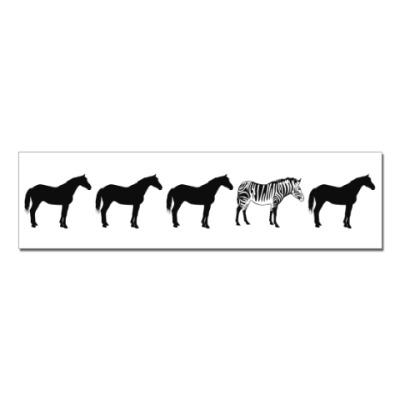 Наклейка (стикер) Другая лошадка