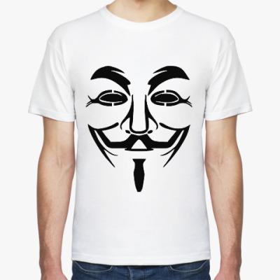 Футболка Анонимус (Маская Гая Фокса)