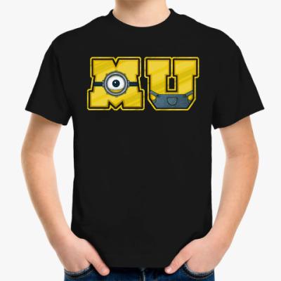 Детская футболка Университет Миньонов