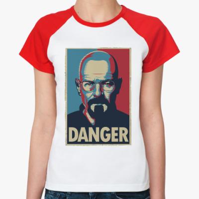 Женская футболка реглан Walter danger