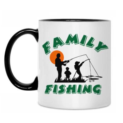 Кружка Семейная рыбалка
