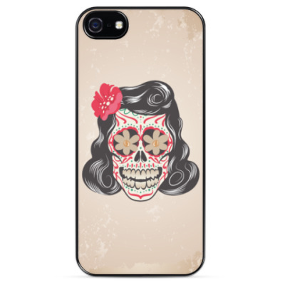 Чехол для iPhone Skull Girl