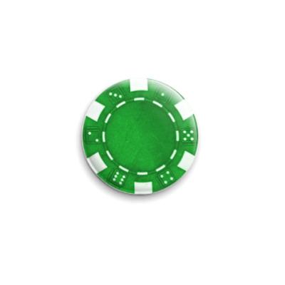 Значок 25мм Green Caps