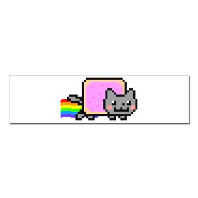 Наклейка (стикер)  NyanCat