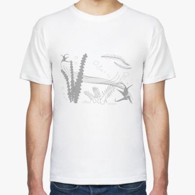 Футболка Подводные растения