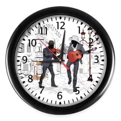 Настенные часы Блюз