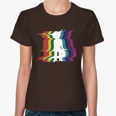 Женская футболка Танцы пришельца