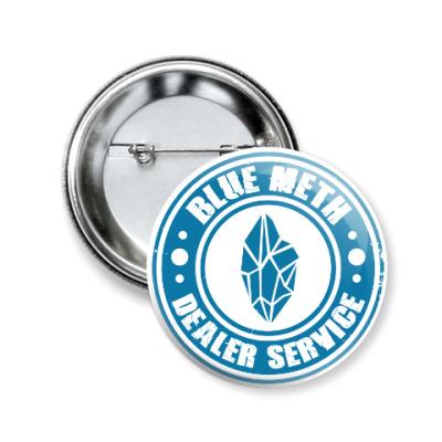 Значок 50мм Blue Meth Dealer