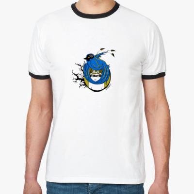 Футболка Ringer-T Blue bird