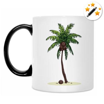 Кружка-хамелеон Кокосовая пальма