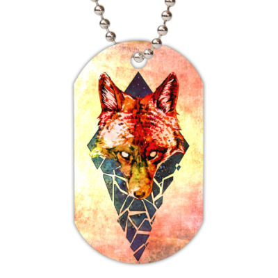 Жетон dog-tag Fox Brokenspace