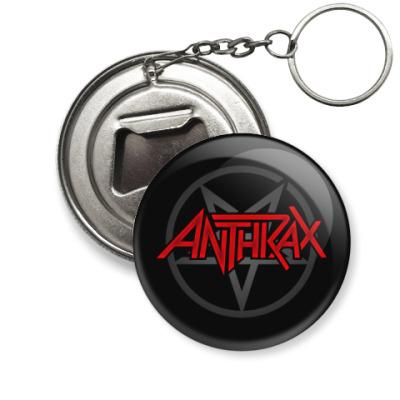 Брелок-открывашка Anthrax