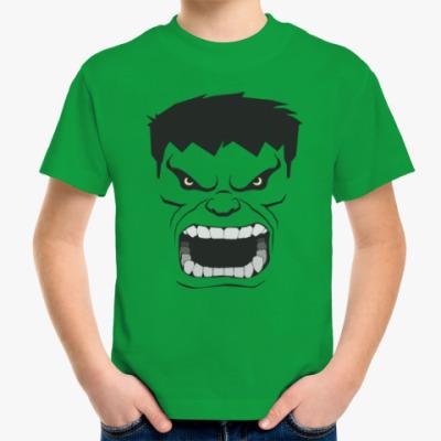 Детская футболка Hulk