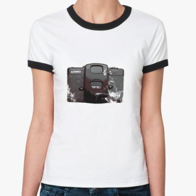 Женская футболка Ringer-T lomo