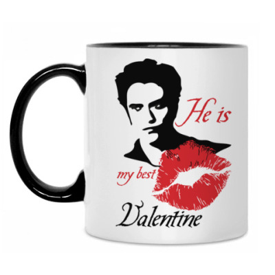 Кружка My best Valentine