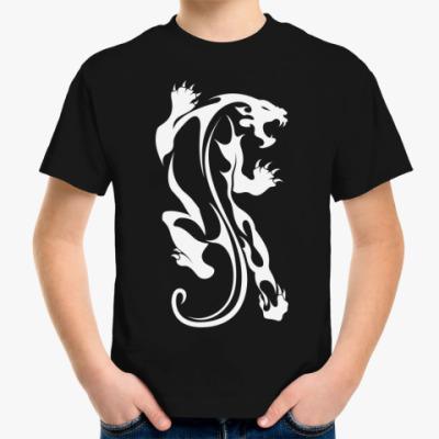 Детская футболка Дикая Кошка