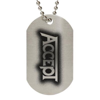 Жетон dog-tag Accept