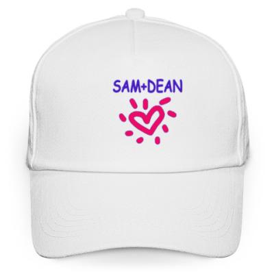 Кепка бейсболка Supernatural - I love Sam+Dean