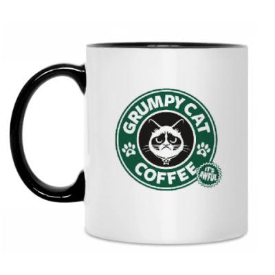 Кружка Grumpy Cat coffee!