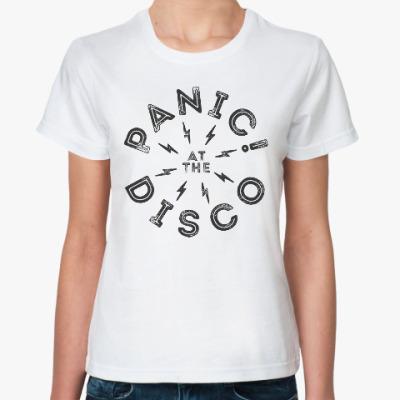 Классическая футболка Panic! At the Disco