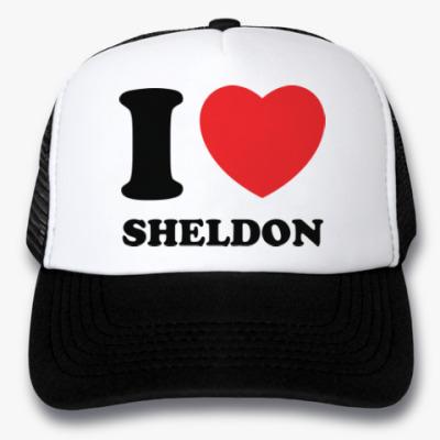 Кепка-тракер I Love Sheldon