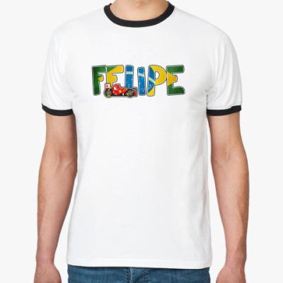 "Футболка Ringer-T ""FELIPE"""