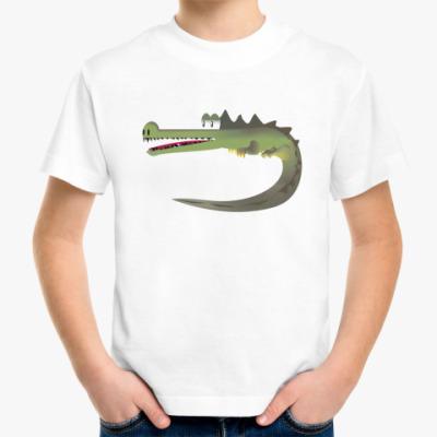 Детская футболка Крокодильчик :)