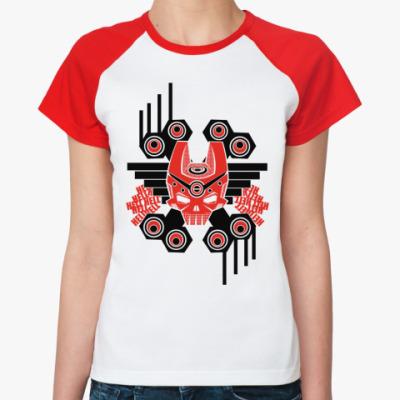 Женская футболка реглан Hell  Ж ()