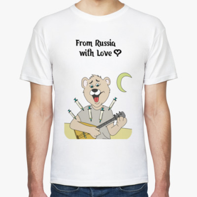 Футболка From Russia with Love