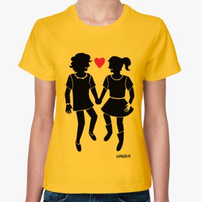 Женская футболка Весёлые лесбиянки