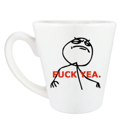 Чашка Латте Fuck Yeah cup latte