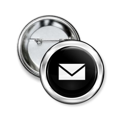"""Значок 50мм  """"E-Mail"""""""