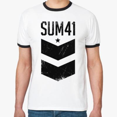 Футболка Ringer-T Sum 41